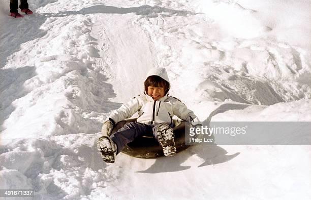 Skiing basin