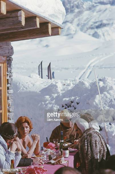A skiing holiday in Courchevel France circa 1970
