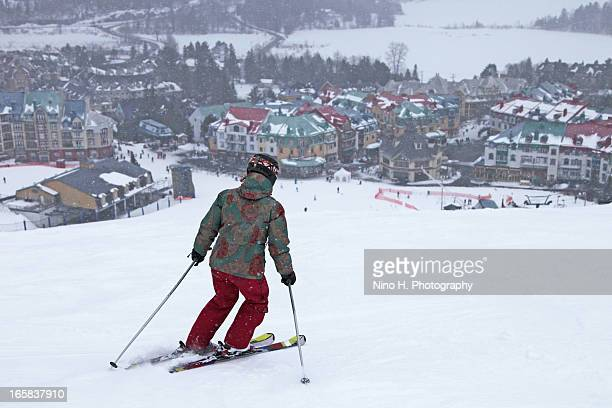 Skiing in Mont-Tremblant - Laurentian Mountains