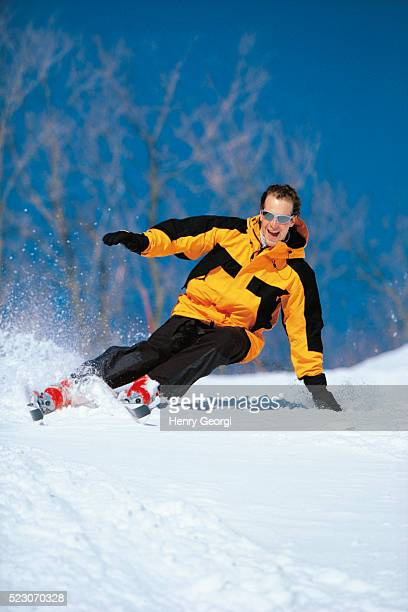 skiing, mont tremblant, quebec - mont tremblant stock pictures, royalty-free photos & images