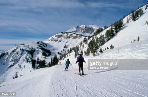 Skiing the Headwall at Jackson Hole Mountain Resort