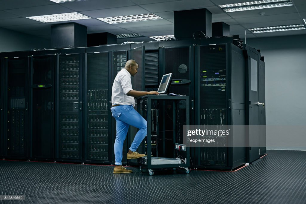 Skilled in all things IT : Stock Photo