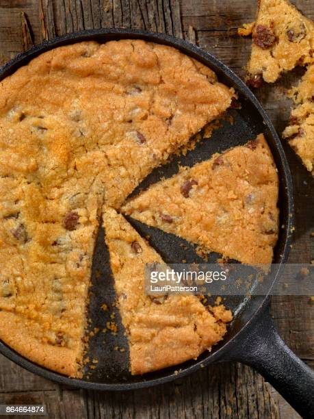 Skillet Chocolate Chip Cookie with