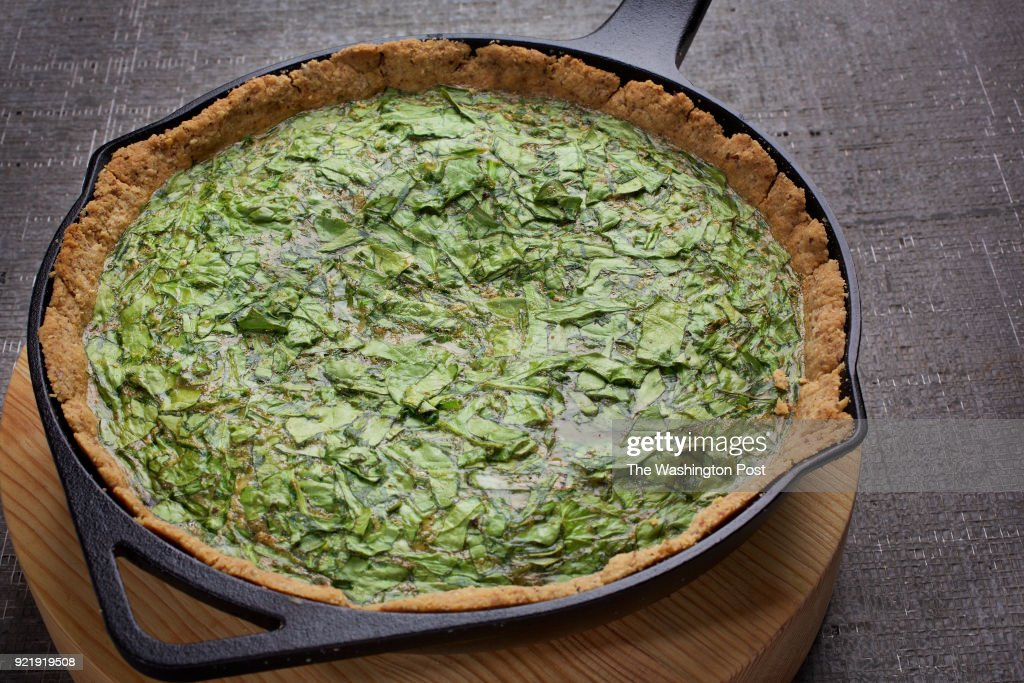 Skillet Spinach and Chive Quiche : News Photo