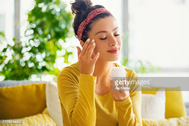 skin care is the ultimate beauty. - skin care stock pictures, royalty-free photos & images