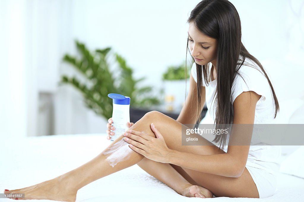 Skin care. : Stock Photo