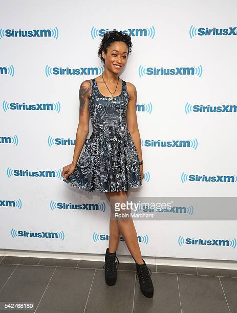 Skin Diamond visits at SiriusXM Studio on June 24 2016 in New York City