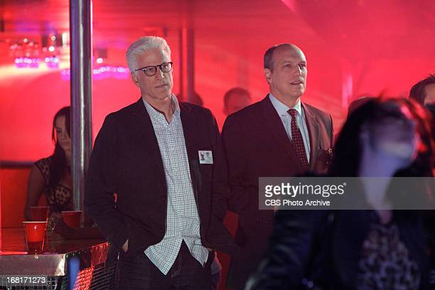 Skin in the Game DB Russell and Conrad Ecklie enjoy the Black Sabbath but are there for other reasons as well on the 13th season finale of CSI CRIME...