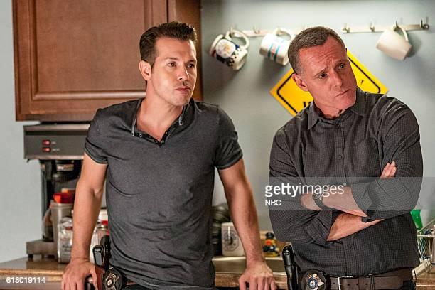 D 'Skin in the Game' Episode 406 Pictured Jon Seda as Antonio Dawson Jason Beghe as Hank Voight