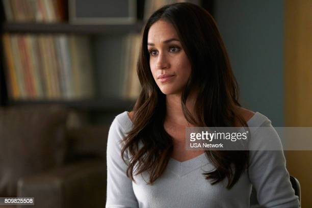 SUITS Skin In the Game Episode 701 Pictured Meghan Markle as Rachel Zane