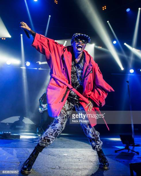 Skin of Skunk Anansie performs at O2 Academy Brixton on February 4, 2017 in London, England.