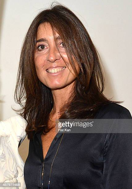 Skin President and cofounder Cecile Reboul Cleach Skin attends the 'Skin Fais Moi Ma Peau' Against Women Breast Cancer Auction Exhibition Preview At...