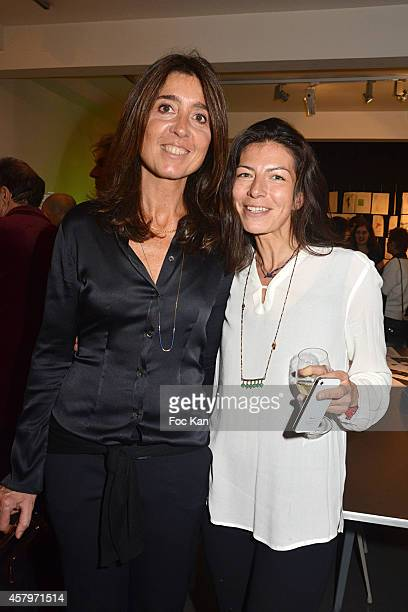 Skin President and cofounder Cecile Reboul Cleach Skin 'Les P'tits Cracks' director and Skin cofounder Anne Sophie Terakopiantz attend the 'Skin Fais...