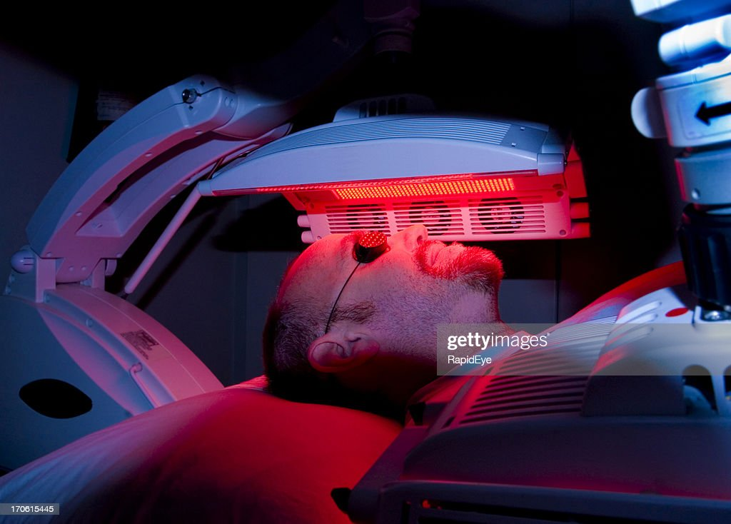 Skin-cancer treatment : Stock Photo