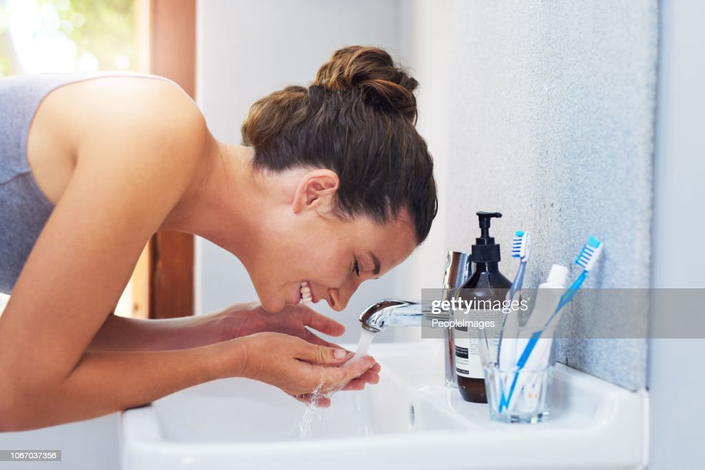 Skincare is a daily commitment : Stock Photo