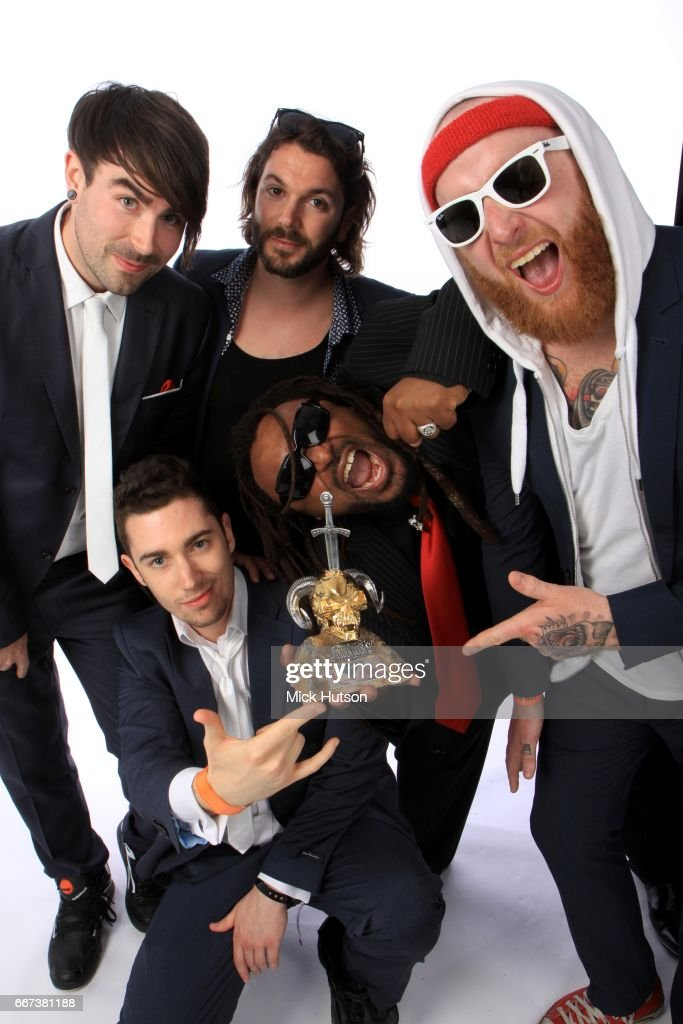 Skindred, studio portrait, 13th June 2011.