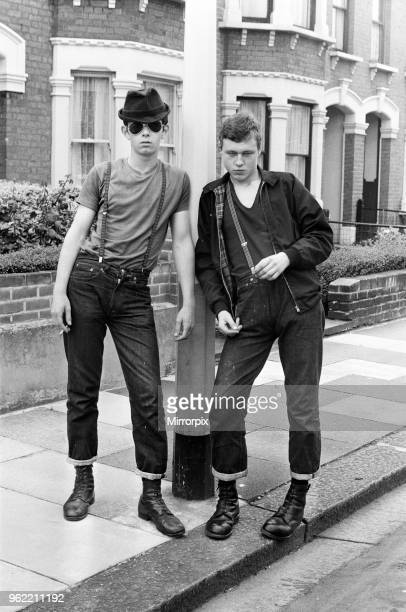 Skinhead and Ben Sherman boy, 15th August 1970.