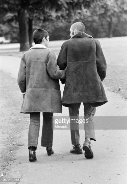 Skinhead couple Gelnda Peake and Tony Hughes 7th October 1969