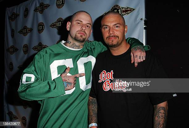 Skinhead Rob Rob Aston and DJ Muggs during Camp Freddy In Concert with Suicide Girls Sponsored by Indie 1031 Inside and Backstage at Avalon Hollywood...