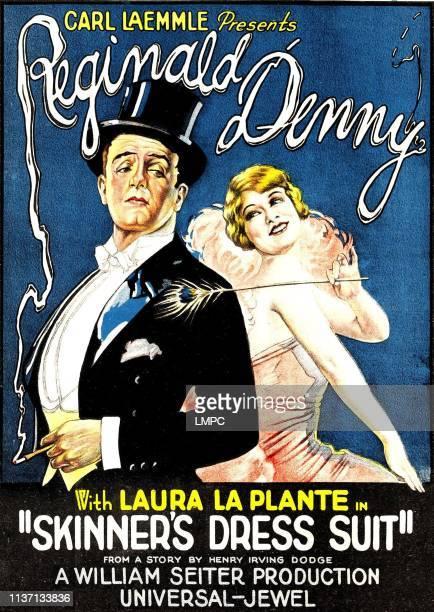 Skinner's Dress Suit poster left to right Reginald Denny Laura La Plante 1926