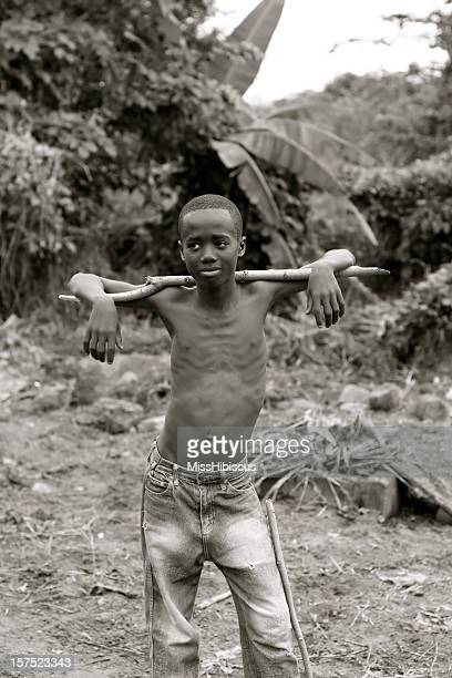 skinny african teen - underweight stock photos and pictures