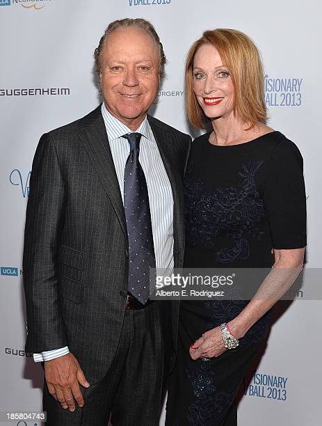 Skip Bronson and Edie Baskin Bronson arrive to the 2013 UCLA Neurosurgery Visionary Ball at the Beverly Wilshire Four Seasons Hotel on October 24...