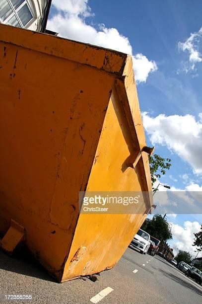 Skip-constructeurs de construction site