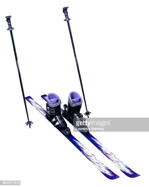 Skis and Ski Poles