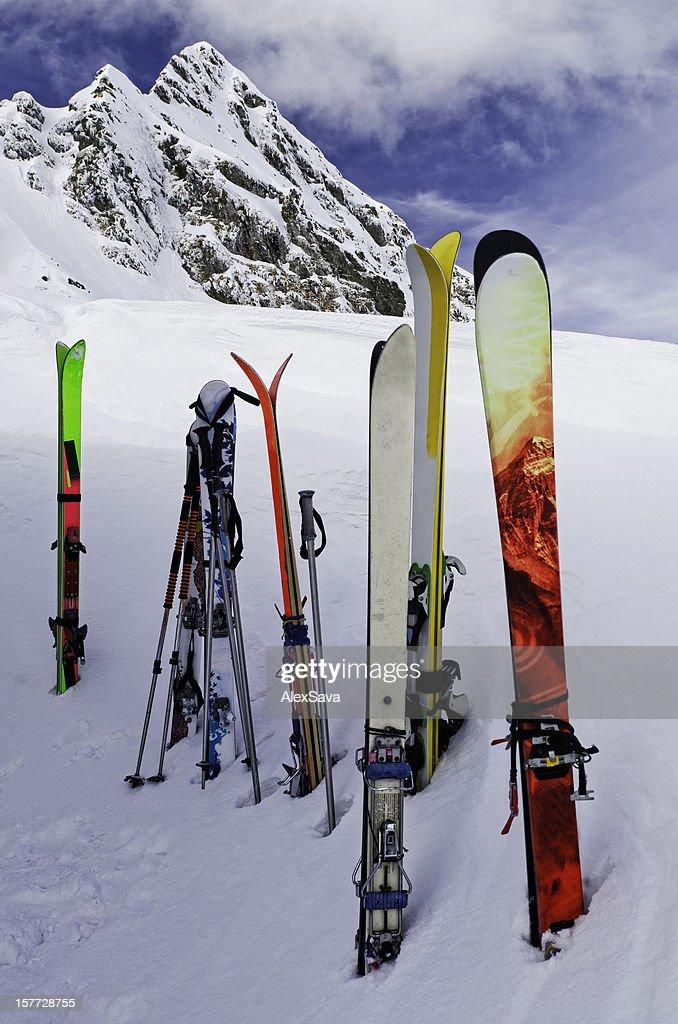 スキー、スノー : ストックフォト