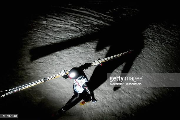 Skispringen Weltcup 2003 Kuusamo Sven HANNAWALD/GER