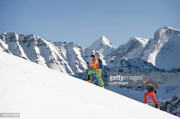 Skitour, Weissenseegletscher, Salzburg, Austria