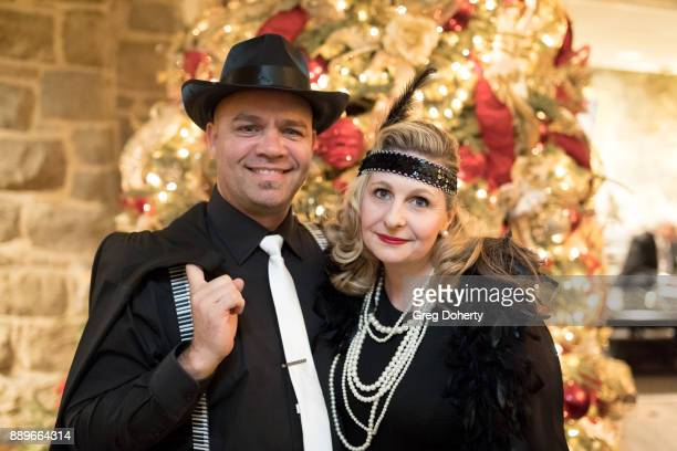 Skluk and Colette Erasmus attend The Thalians Hollywood for Mental Health Holiday Party 2017 at the Bel Air Country Club on December 09 2017 in Bel...