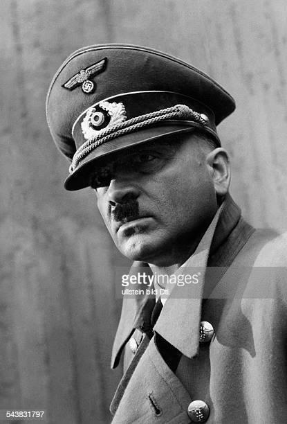 Skoda Albin Actor Voice Actor Austria* as 'Adolf Hitler' in the film 'Der letzte Akt' Germany/ Austria 1955 Photographer Heinz HajekHalke Published...