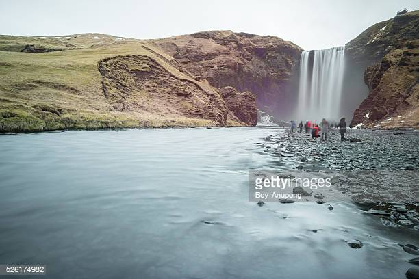 Skogafoss one of the iconic waterfall of Iceland.