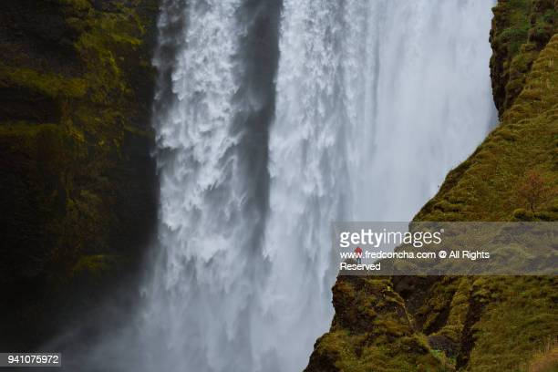 Skogafoss waterfal in Iceland