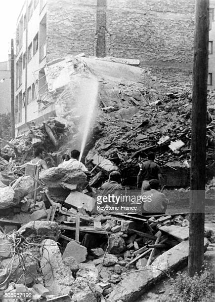 Skopje, Capital Of The Republic Of Macedonia, has been Destroyed By A Powerful Earthquake On July 26, in Skopje, Yougoslavia, on August 1, 1963.