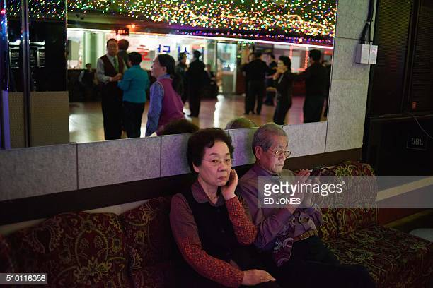 SKorealifestyleculturepopulationageing FEATURE by Jung HaWon In a photo taken on December 2 2015 a couple sit between dances at a 'colatec' in Seoul...