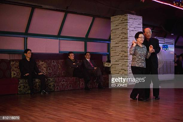 SKorealifestyleculturepopulationageing FEATURE by Jung HaWon In a photo taken on December 2 2015 a couple dance as other await their turn at a...