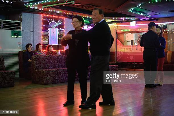 SKorealifestyleculturepopulationageing FEATURE by Jung HaWon In a photo taken on December 2 2015 couples dance at a 'colatec' in Seoul As the mercury...