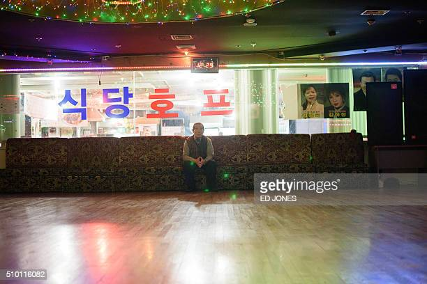 SKorealifestyleculturepopulationageing FEATURE by Jung HaWon In a photo taken on December 2 2015 a waits just after opening to dance at a 'colatec'...