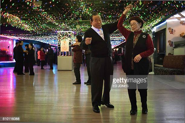 SKorealifestyleculturepopulationageing FEATURE by Jung HaWon In a photo taken on December 2 2015 a couple dance at a 'colatec' in Seoul As the...