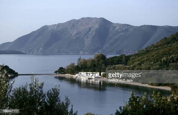 Skorpios Island Vue générale de l'île de SKORPIOS