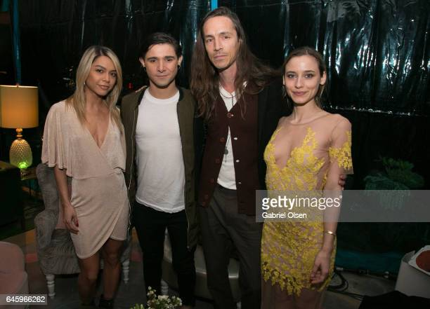 Skrillex and Brandon Boyd attend the Circus Magazine Oscars Celebration Hosted By Steve Shaw and Jonas Tahlin CEO Absolut Elyx Sponsored by Volvo and...
