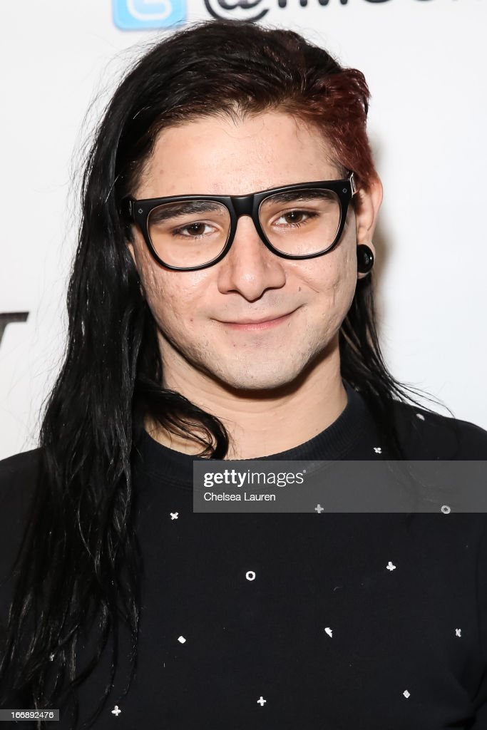 DJ Skrillex attends IMS Engage in partnership wtih W hotels worldwide at W Hollywood on April 17, 2013 in Hollywood, California.