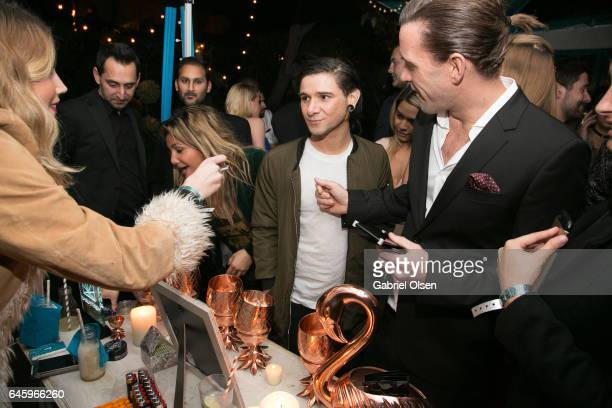 Skrillex attends the Circus Magazine Oscars Celebration hosted by Steve Shaw and Jonas Tahlin CEO Absolut Elyx Sponsored by Volvo and Vaseline on...