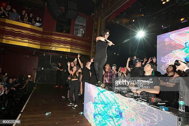 Skrillex & Jauz perform at Girls & Boys at Webster Hall on October 16, 2015
