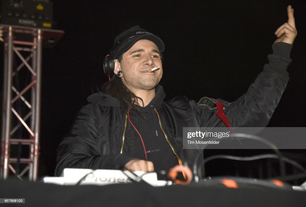 skrillex performs during 2018 form arcosanti on may 12 2018 in