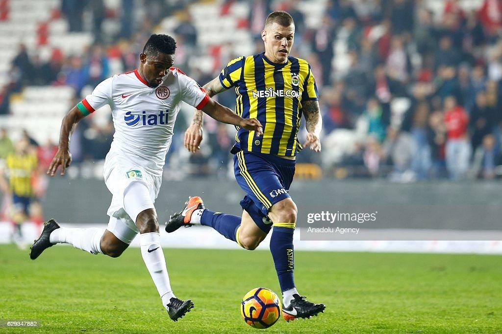 Antalyaspor v Fenerbahce: Turkish Spor Toto Super Lig : ニュース写真