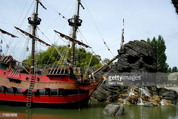 Skull Rock at Disneyland Paris in Paris France
