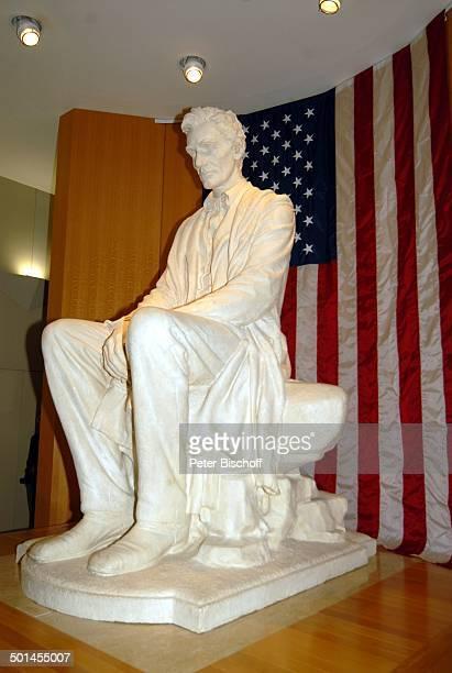 Skulptur von Abraham Lincoln National Cowboy and Western Heritage Museum Oklahoma City Staat Oklahoma Great Plains USA Nordamerika Amerika...